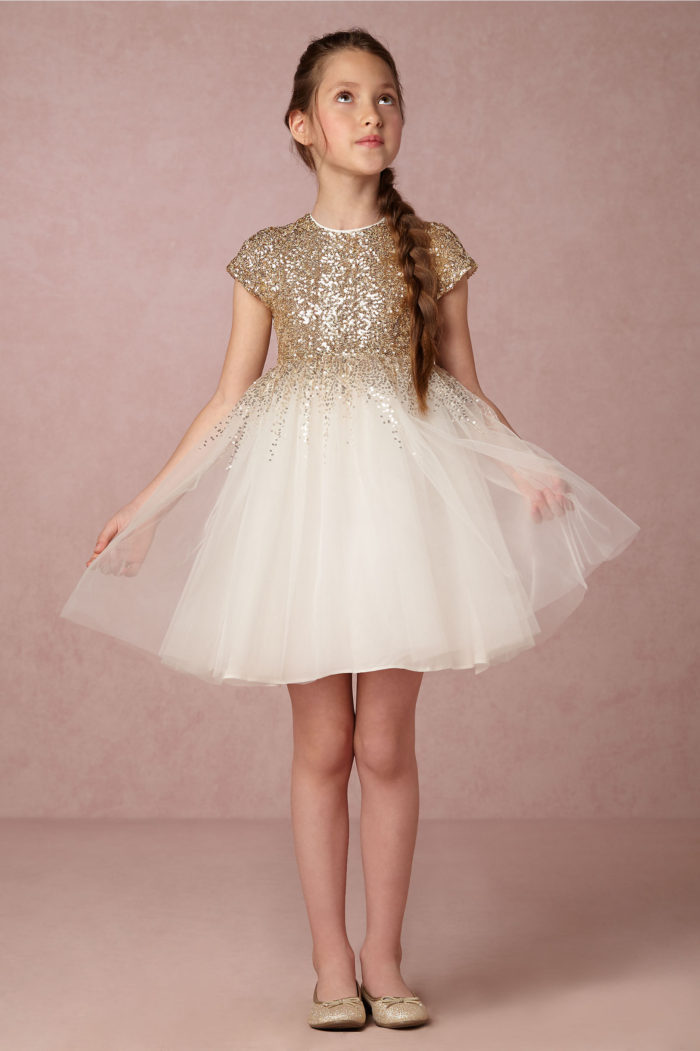 Sparkle and tulle wedding style inspiration dress for for Dresses for girls for a wedding