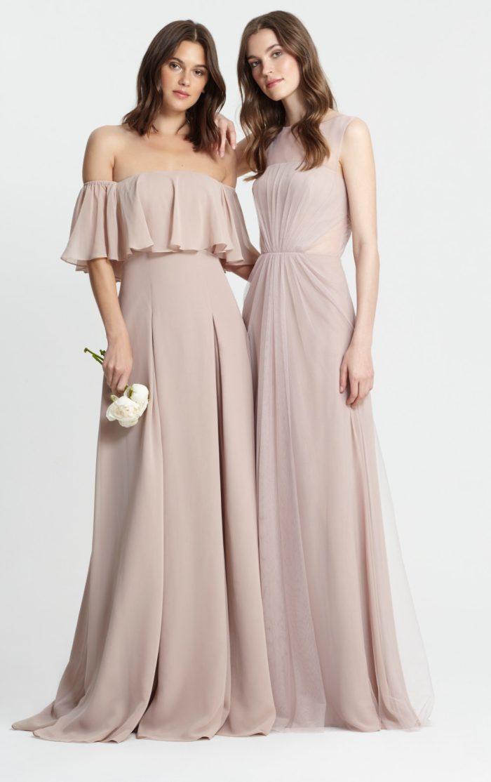 Monique lhuillier bridesmaid dresses for spring 2017 for Wedding party dresses 2017