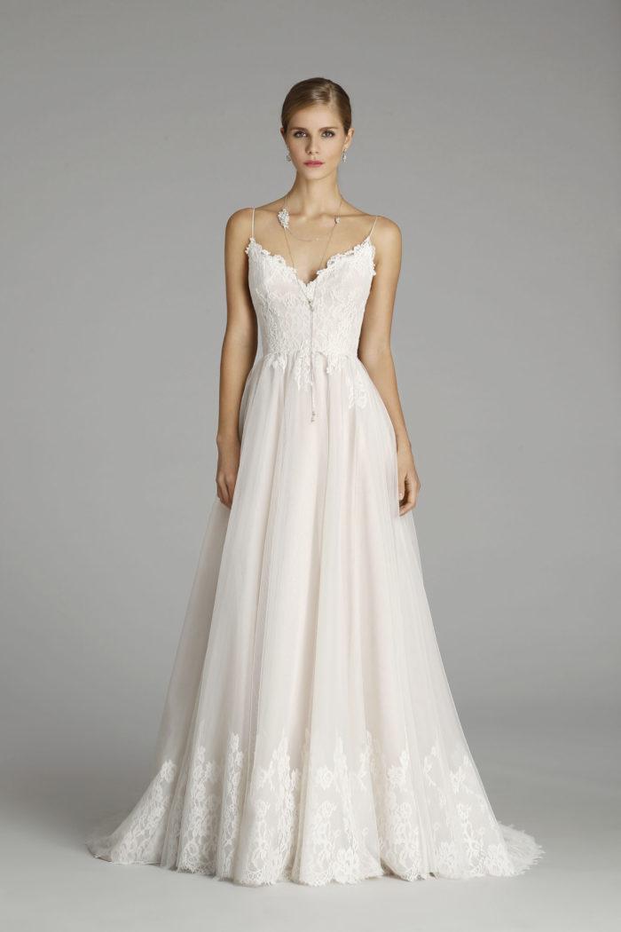 Ballerina style tulle wedding dress | Style 9652 by Alvina Valenta