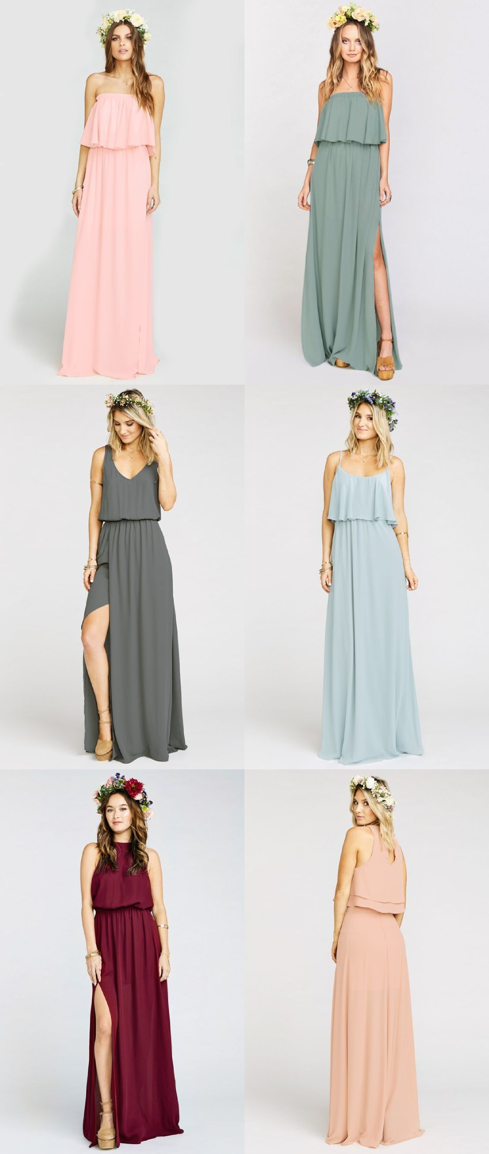 bohemian style bridesmaid dresses wwwimgkidcom the
