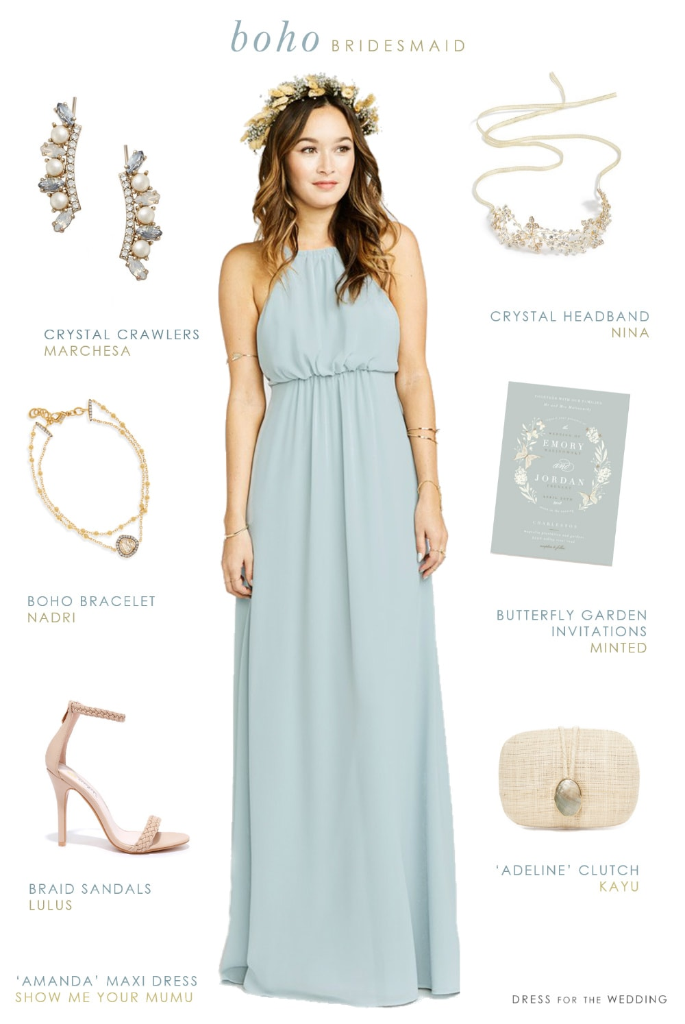 Bekend Boho Bridesmaid Dresses | Dress for the Wedding &SW17