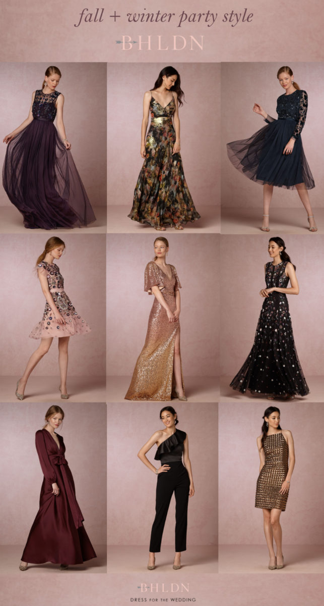 Burgundy dresses for Wedding guest dress for winter