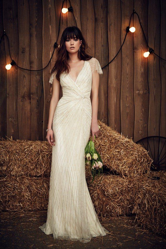 Beaded Jenny Packham Wedding Dresses