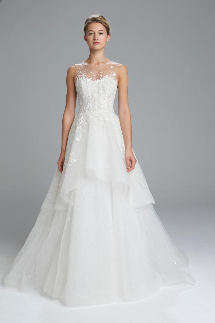 Hand Beaded Designer Wedding Dress