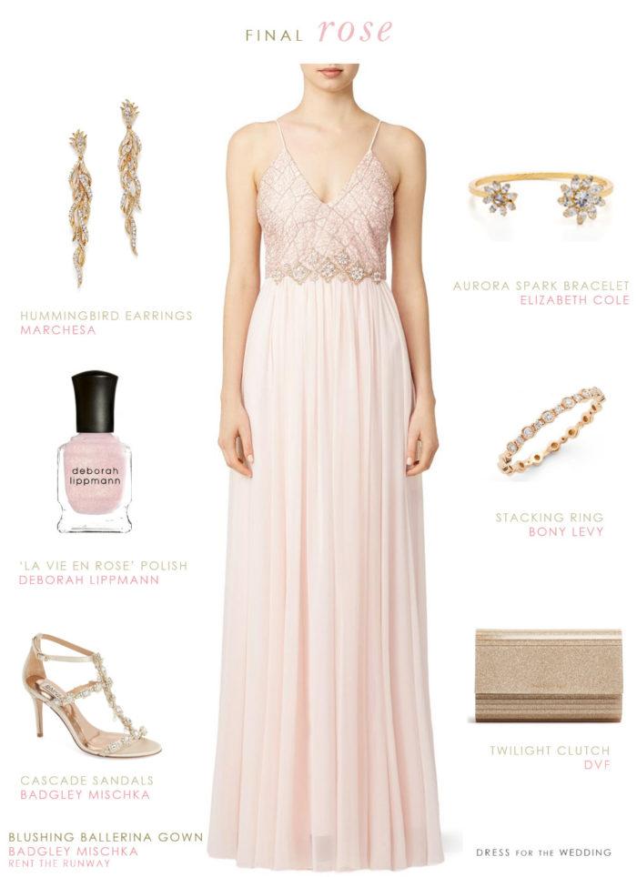 Jojo's Final Rose Dress
