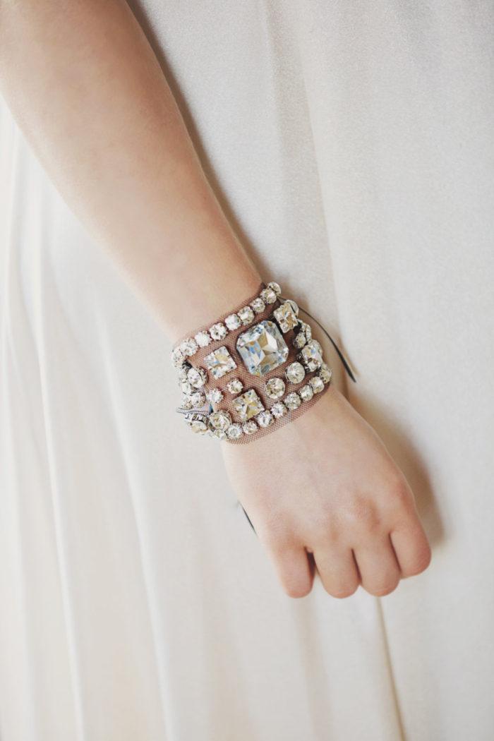 Bridal Cuff Bracelet   By Gibson Bespoke