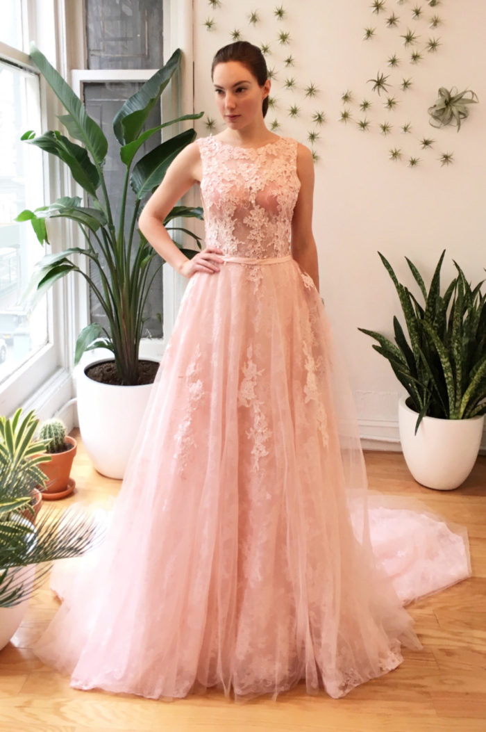 pink and blush wedding dresses dress for the wedding On a pink wedding dress