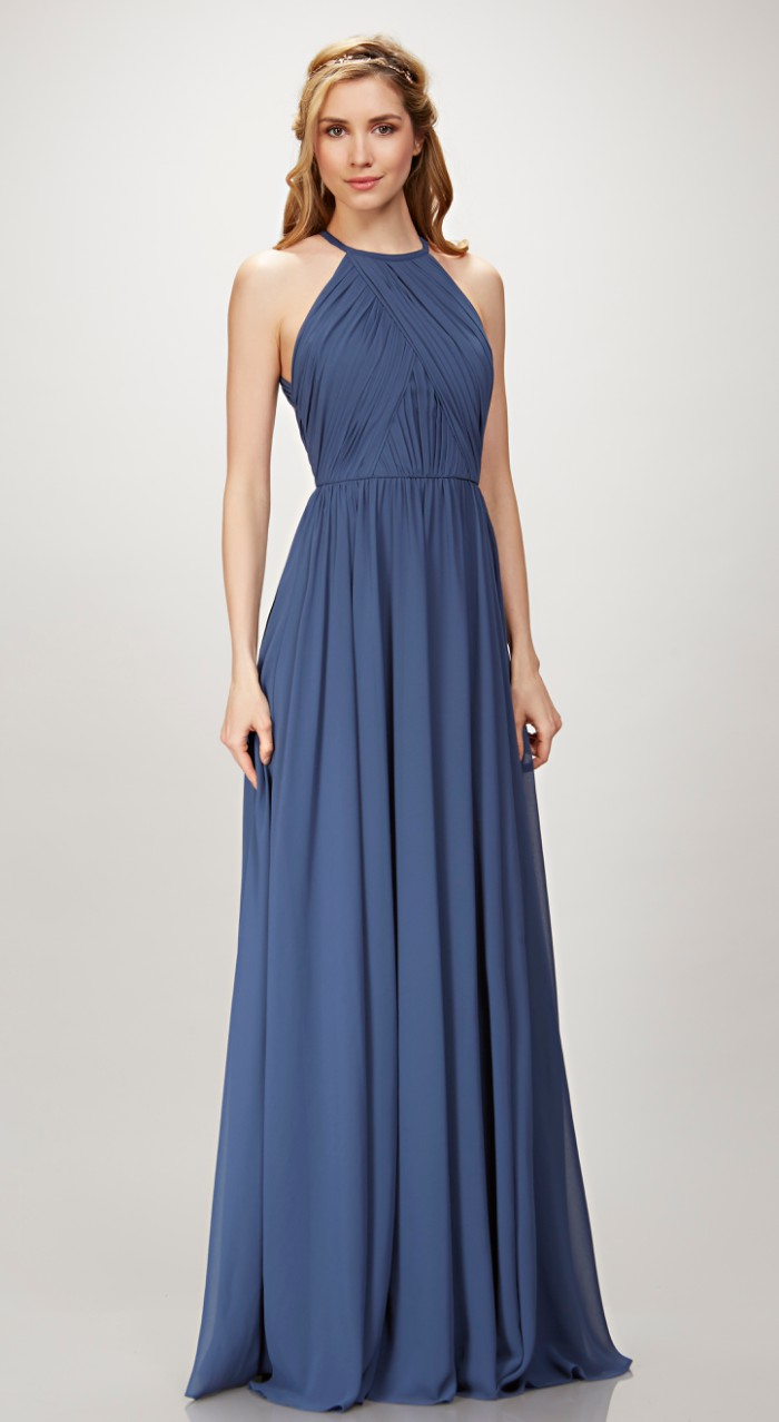 Halter Neck Bridesmaid Dress