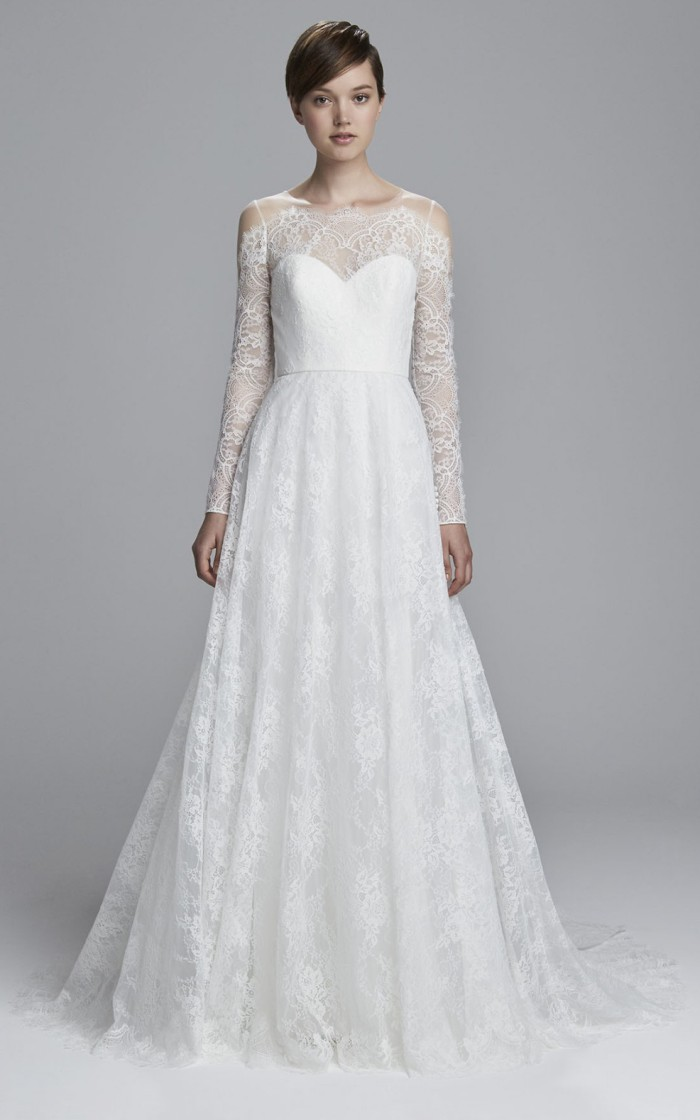Long Sleeve Lace Wedding Dress for 2017 | Reina by Christos Bridal