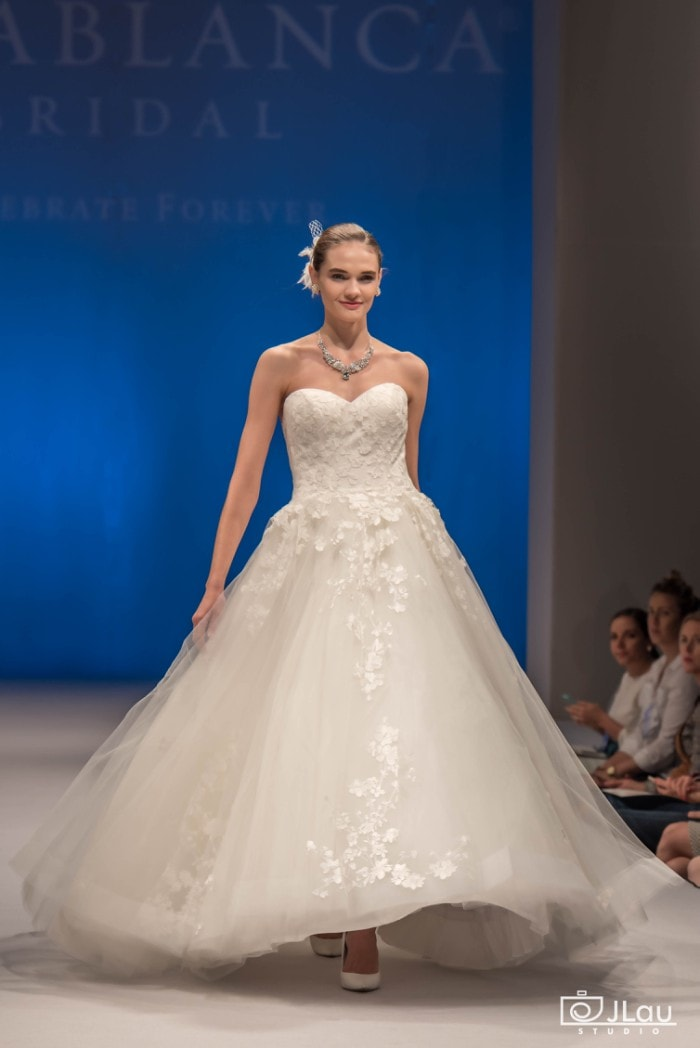 Ballgown wedding dress | Morning Glory by Casablanca Bridal