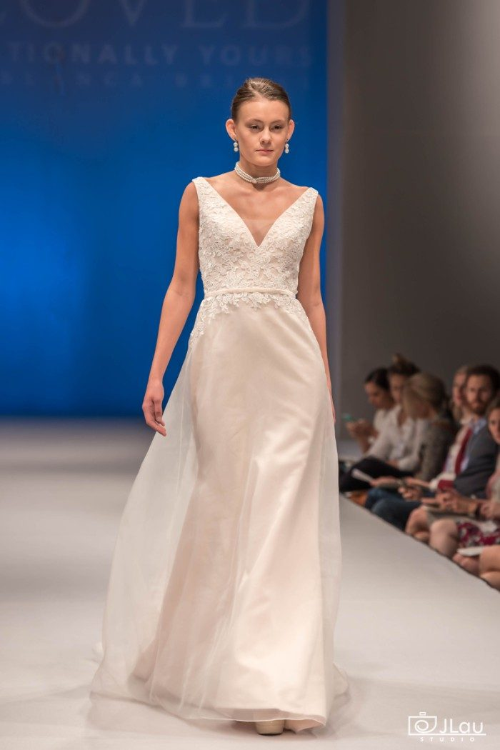 Graceful wedding dress | Style BL226 Devotion by Beloved by Casablanca Bridal