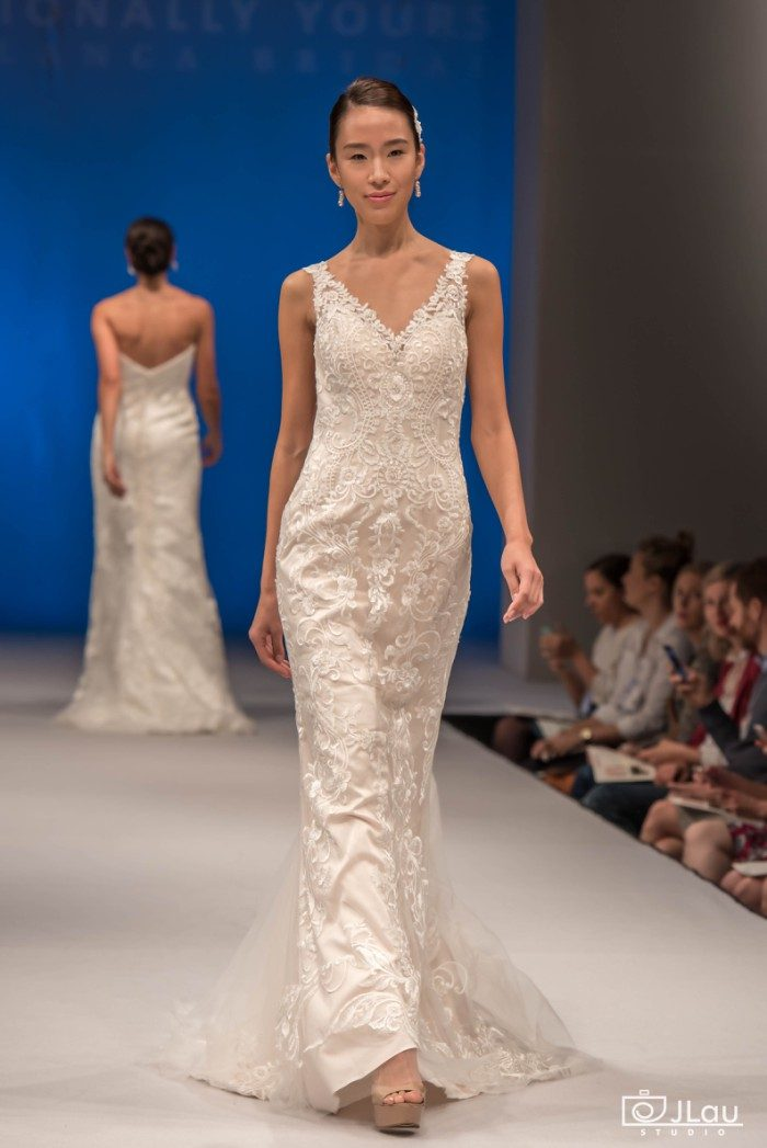 All over lace wedding dress | Style BL229 Intrigue