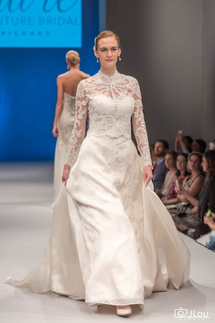 Long sleeved couture wedding dress | Amare Couture Wedding Dresses Style C119 Aurelia