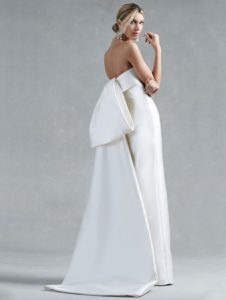 Silk Wedding Dress by Oscar de la Renta | 'Hunter'