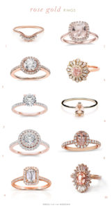 Rose Gold Engagement Rings to Say Yes To!