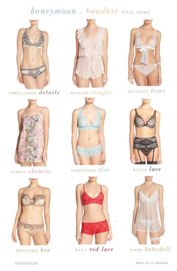 Honeymoon Lingerie Ideas