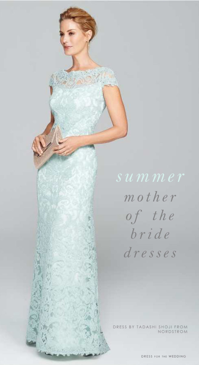 Summer Mother Of The Bride Dresses Dress For The Wedding