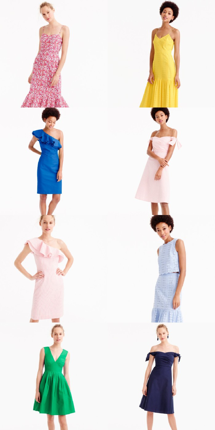 Spring party dresses from J.Crew