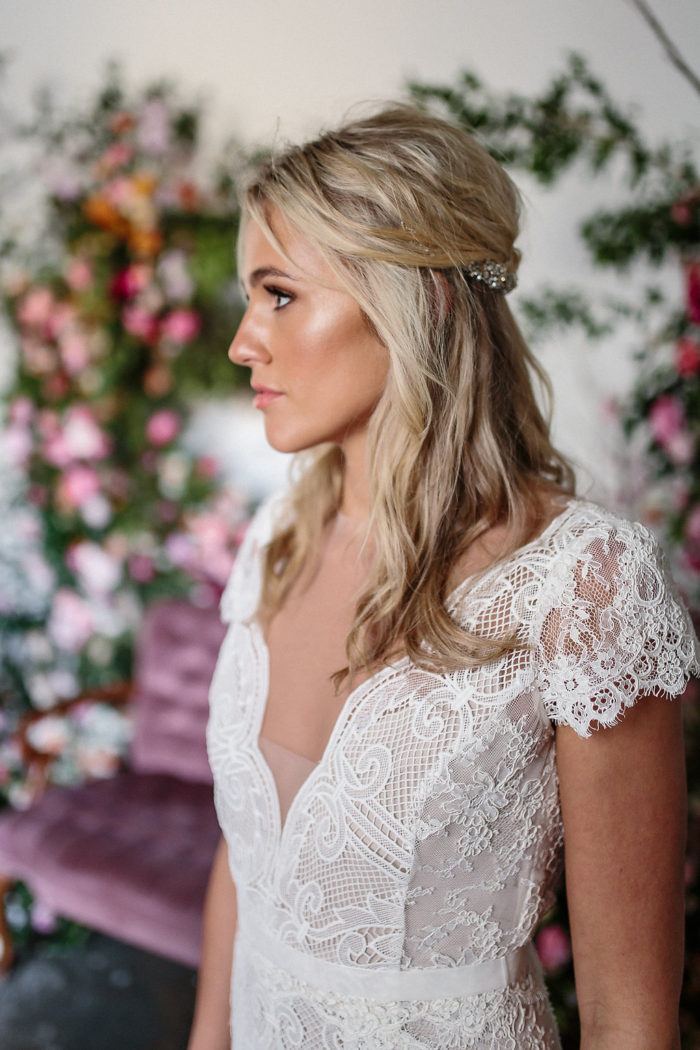 Rosemary, A Designer Wedding Dress by Karen Willis Holmes