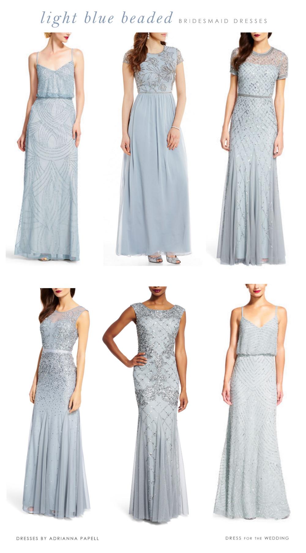 Light Blue Mix And Match Bridesmaid Dresses Dress For