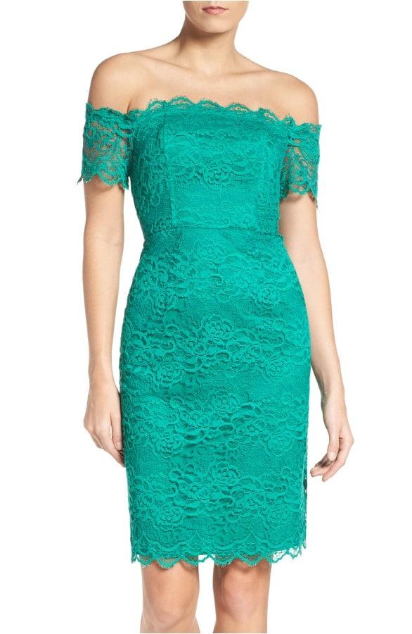 Green Wedding Guest Dress On Sale