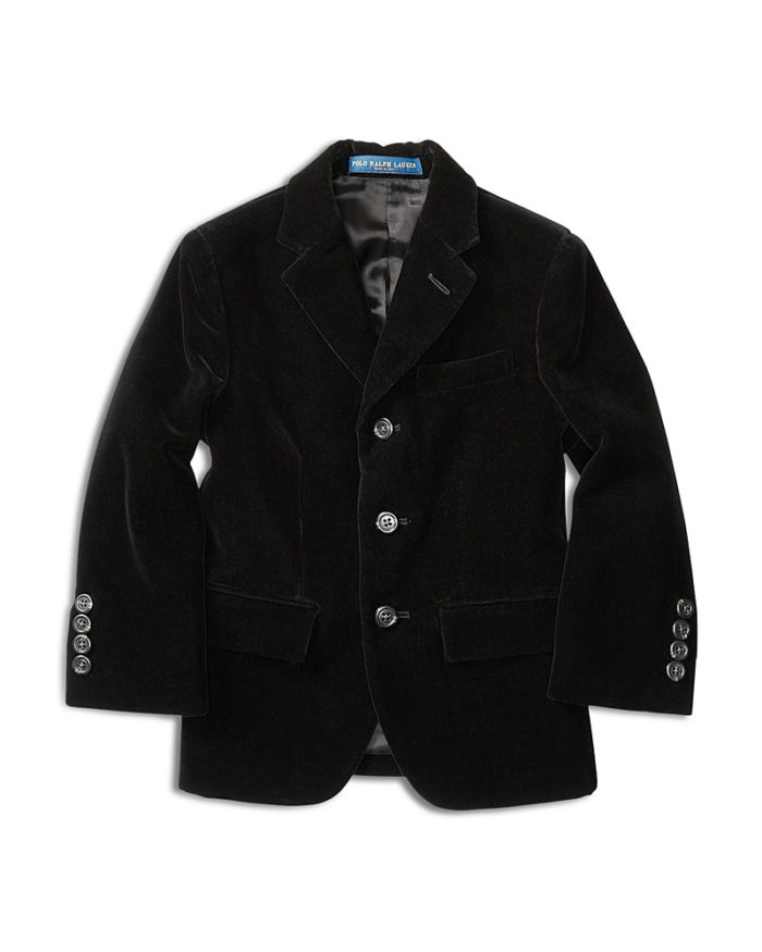 Velvet Jacket For Boys