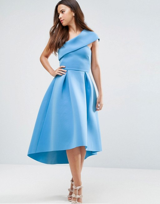 Chic Spring Dress for Wedding Guest