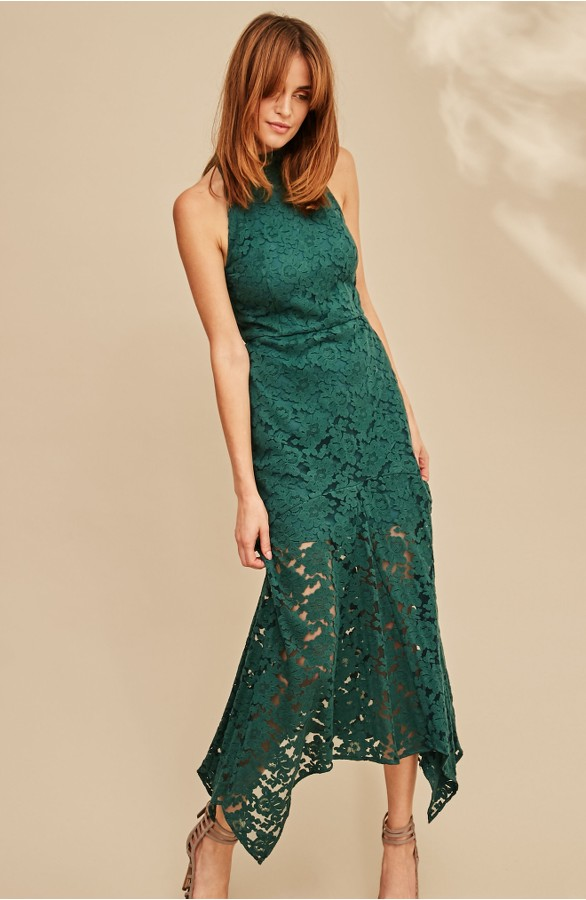 Dark Green Cocktail dress
