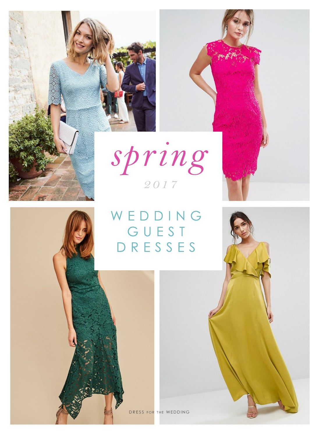 Beautiful dresses to wear as a wedding guest dress for for Spring wedding dress guest