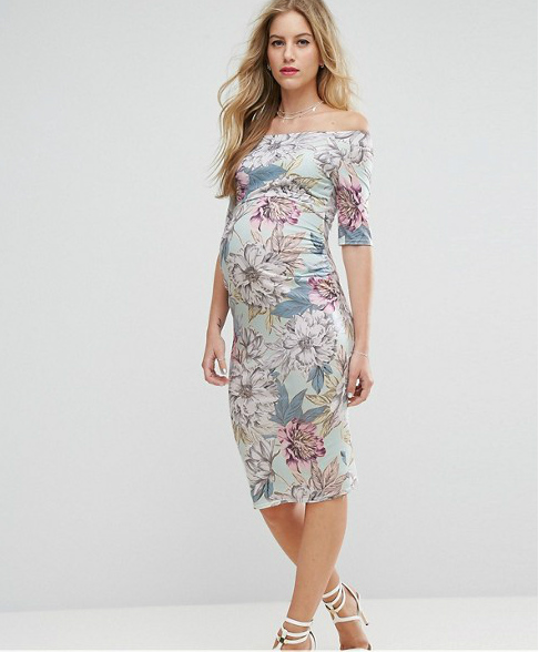 Guest of Wedding Spring Maternity Dress