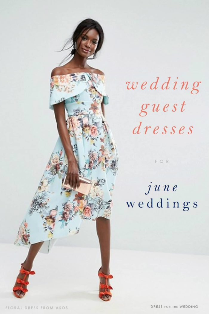 Dresses for June Wedding Guests