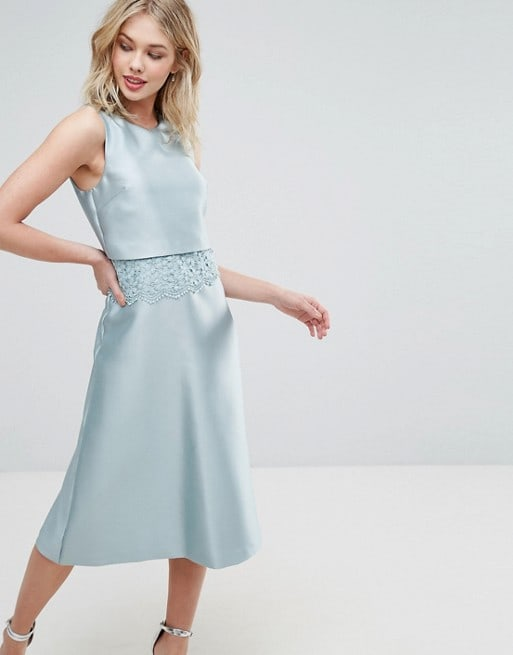 Mint Blue Cocktail Dress
