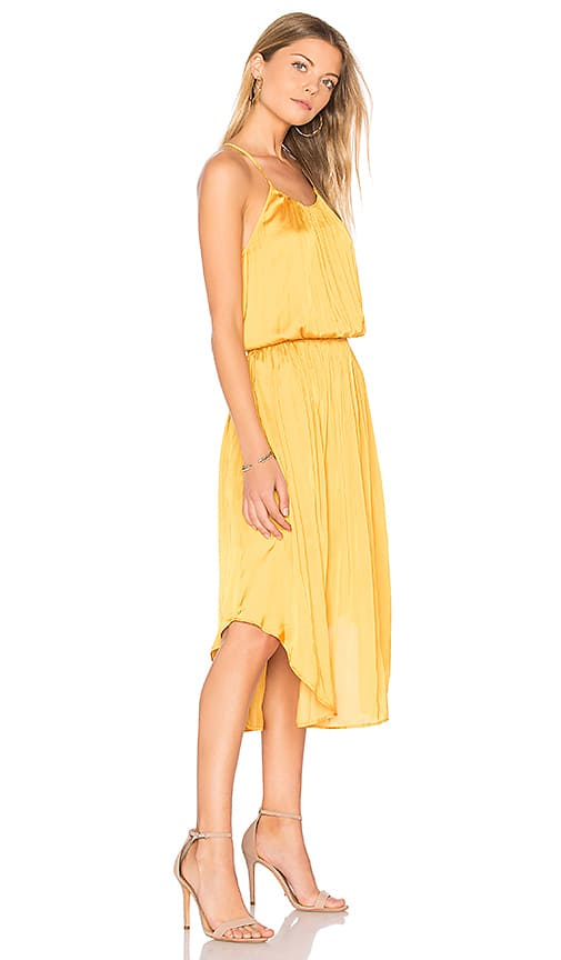 Yellow Dress for June Wedding