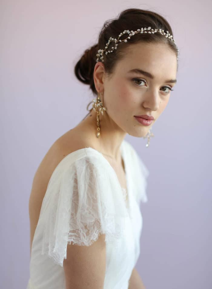 Beaded Bridal Headband