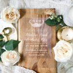 Clear Wedding Invitations