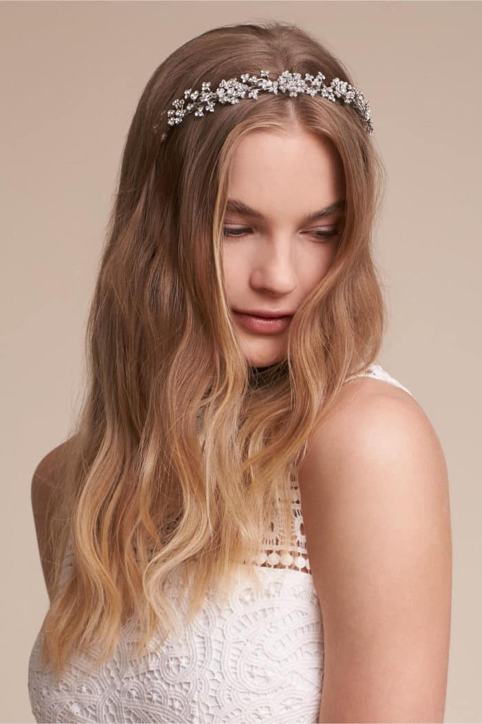 Crystal Bridal Headband | Wedding Hairband from BHLDN