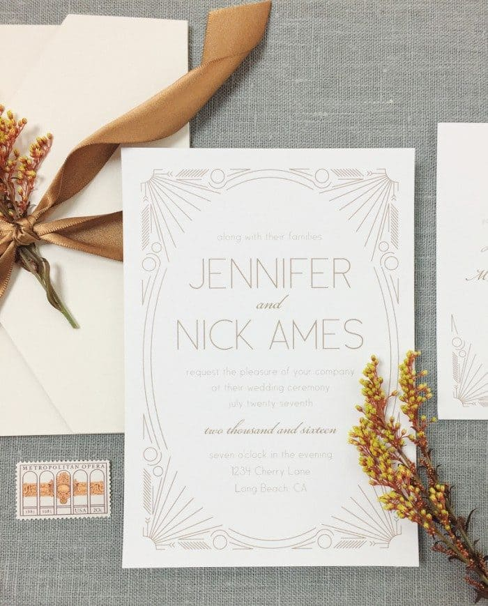 Affordable Custom Wedding Invitations