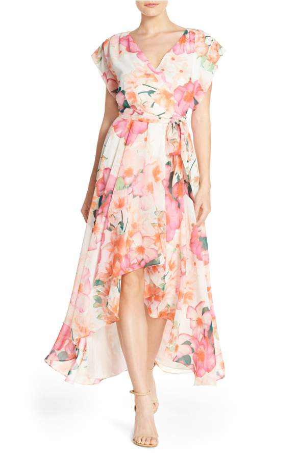 High low dresses for the mother of the bride dress for for Hi lo dress wedding guest