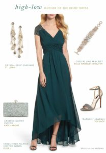 High-Low Dresses for the Mother-of-the-Bride