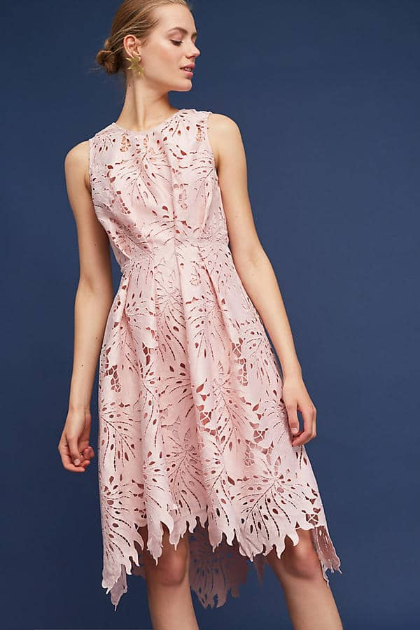 Pink Lace Wedding Guest Dress : July wedding guest attire ideas new dresses to wear this