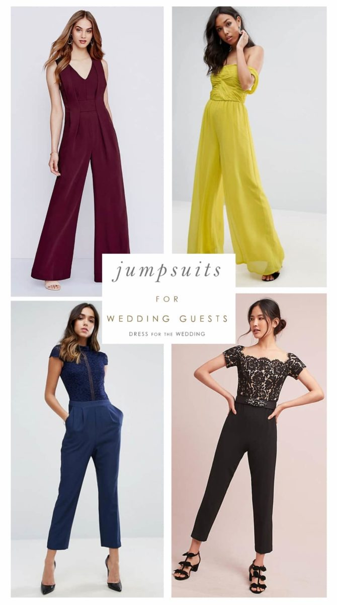15 Jumpsuits You Can Absolutely Wear As A Wedding Guest Dress For