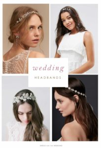 Bridal Headbands for Gorgeous Wedding Hairstyles!
