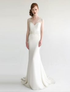 Modern Embellished Bridal Gown: 'Odelia' by Aria