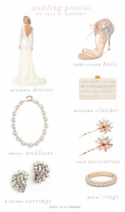Don't Miss Shopbop's Sale on Wedding Dresses and Bridal Accessories!