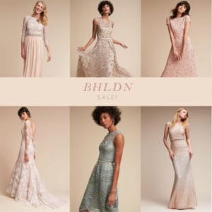Sale at BHLDN – With Deals on Some of Our Favorite Dresses!
