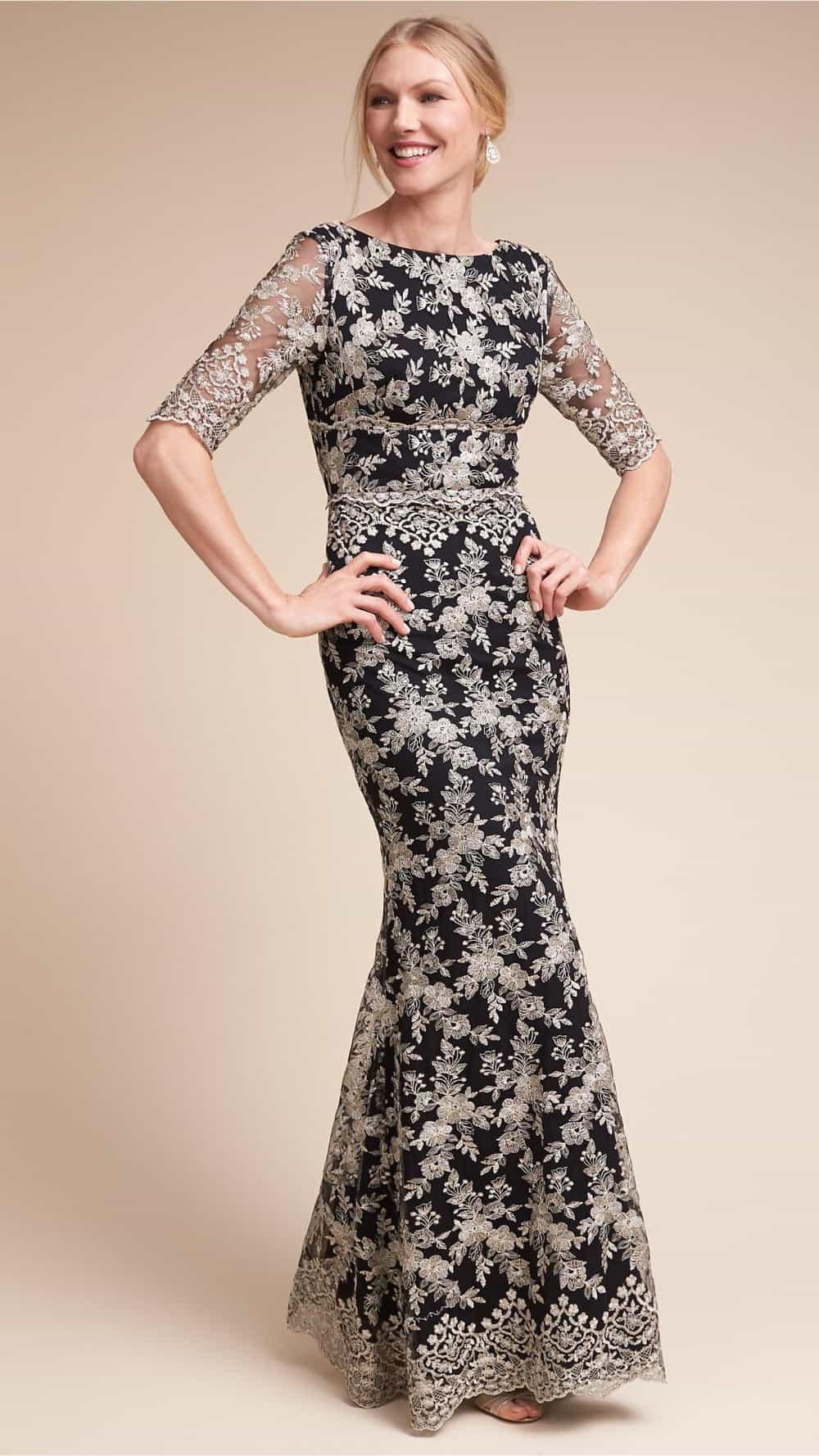 Black Dresses for Weddings Mother's