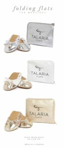 Foldable Flats for Weddings | Ballet Shoes for Weddings