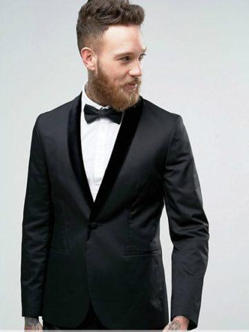Tuxedo with Velvet Lapel