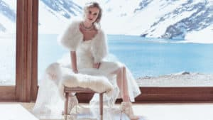 The New Wedding Dresses and Accessories at BHLDN Make Us Want a Winter Wedding!