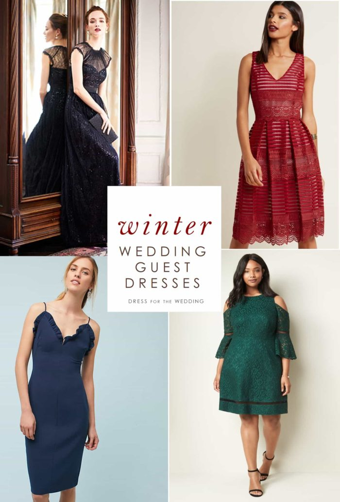 53f7467c136 Winter Wedding Guest Dresses